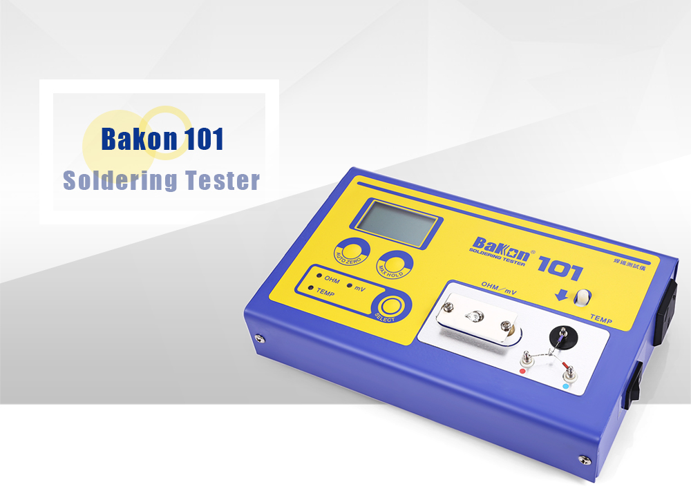 bakon 101 digital soldering tester for tip temperature eu plug online shopping. Black Bedroom Furniture Sets. Home Design Ideas