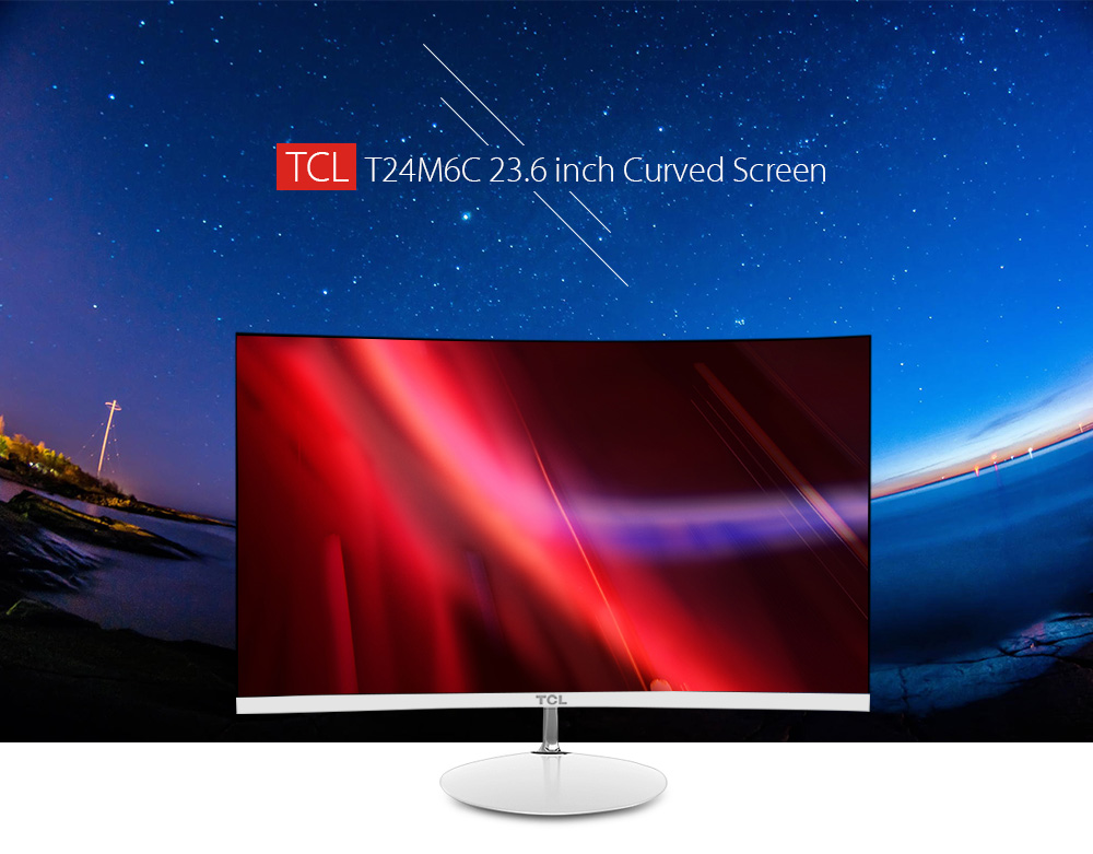 TCL T24M6C 23.6 inch Curved Screen