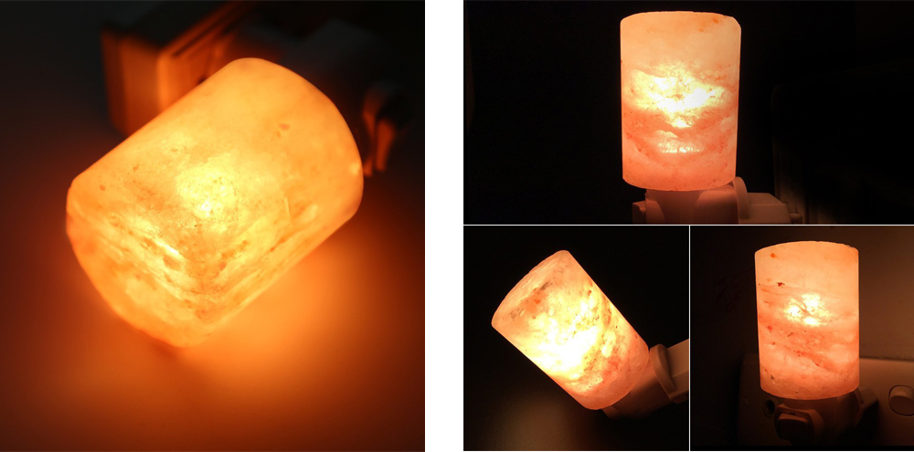 Salt Lamp Near Electronics : Mini Handy Carved Himalayan Crystal Salt Lamp Night Light-13.54 Online Shopping GearBest.com