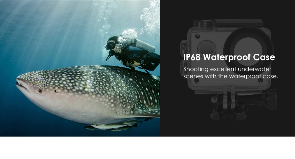 S2 4K WiFi Action Sports Camera with Allwinner V3 Chipset