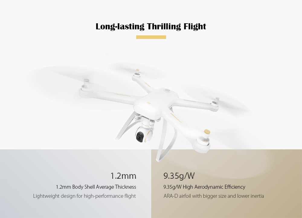 XIAOMI Mi Drone HD 4K WiFi FPV 5GHz Quadcopter Tap to Fly with Propeller Protector