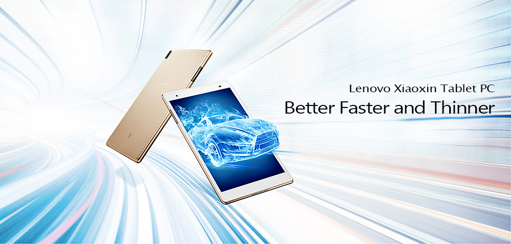 Lenovo Xiaoxin TB - 8804F Tablet PC 8.0 inch Android 7.1 Snapdragon 625 Octa Core 2.0GHz 4GB RAM 64GB ROM Dual WiFi