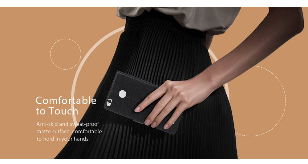 ASLING PU Leather Flip-open Full Body Protective Case for Xiaomi Redmi 3X Credit Card Slot Phone Stand Holder