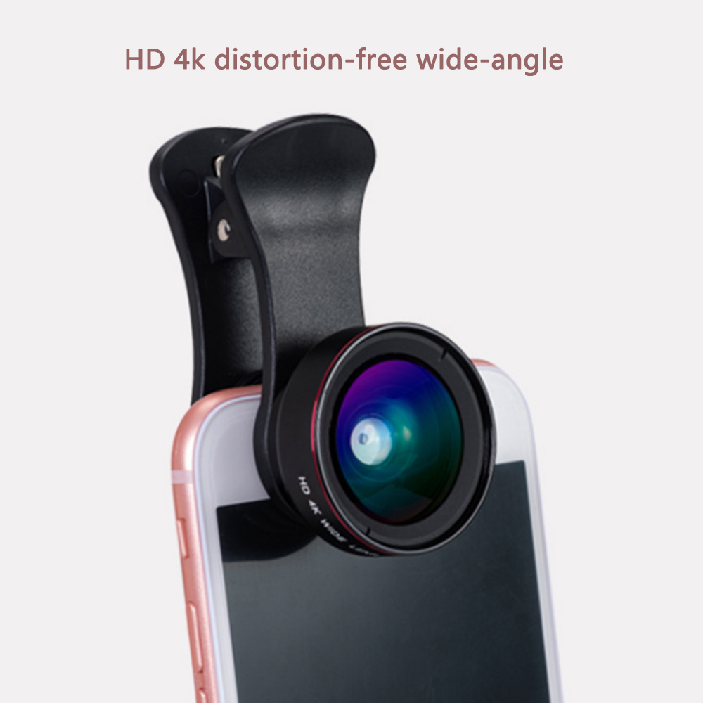 Wide-Angle Mobile Phone Wide-Angle Macro Optical Self-Timer Clip Two-In-One Without Distortion Universal