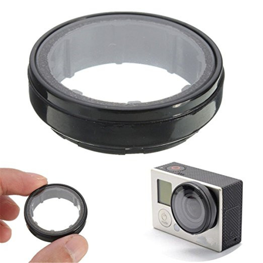 Optical Glass Lens Cap for GoPro Hero 5 / 4 / 3+ / 3 Edition Camera Protector Cover