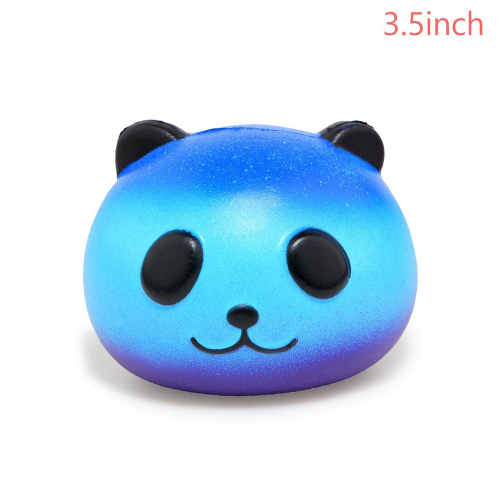 Slow Rising Jumbo Squishy Kawaii Bottle and Panda Soft Toy 2PCS