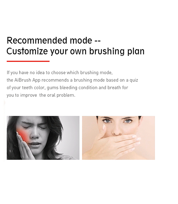 Lenovo Lemei Intelligent Sonic Electric Toothbrush IPX7 Waterproof Smart Reminder with 5 Brushing Modes