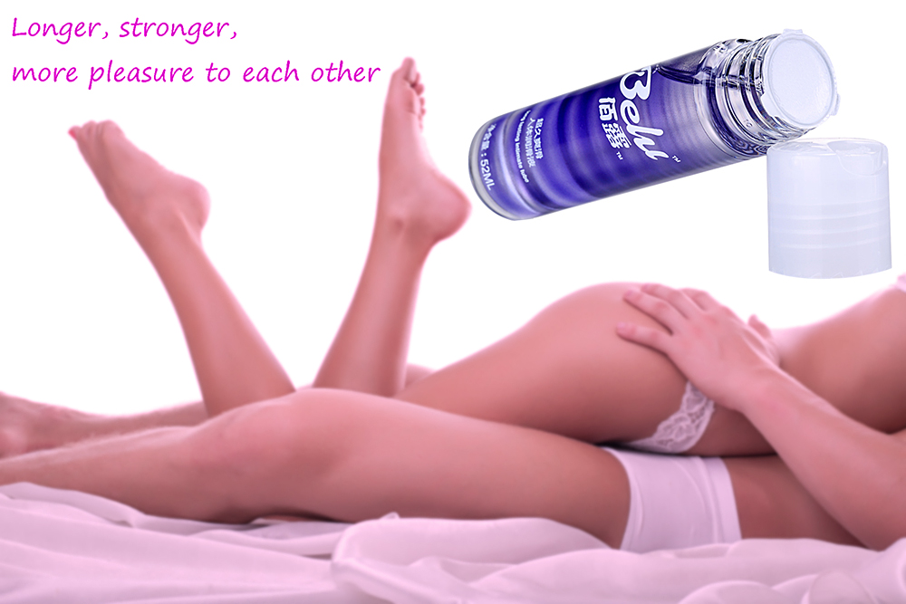 Belu 52ml Sex Lubricant Water Soluble Human Oil Lubricating for Pleasant Sexual Life