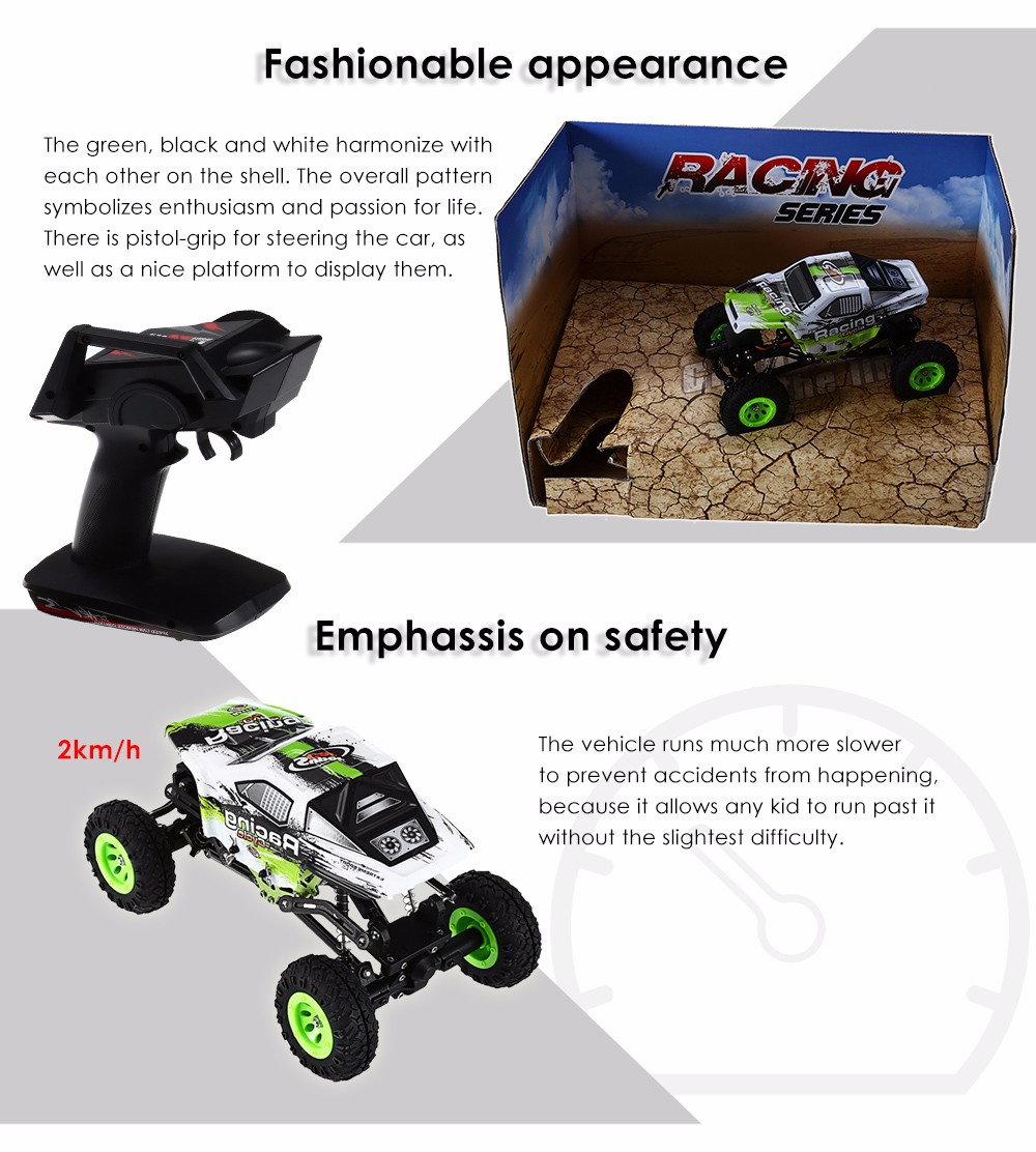 WLtoys No.24438 1:24 2.4GHz 4CH 4WD RC Racing Car