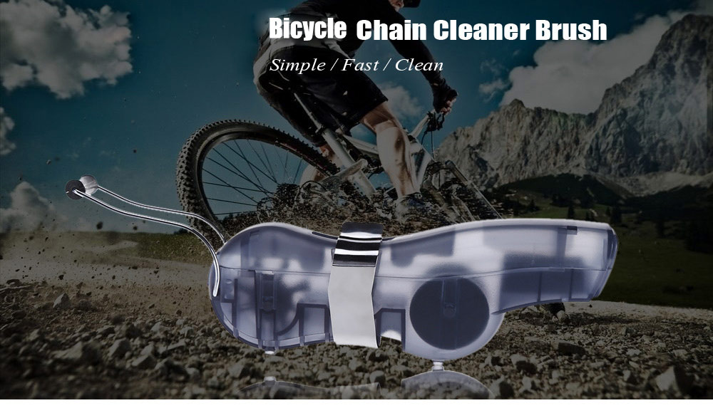 Bicycle Cycling Machine Brush Chain Cleaner Wash Cleaning Tool