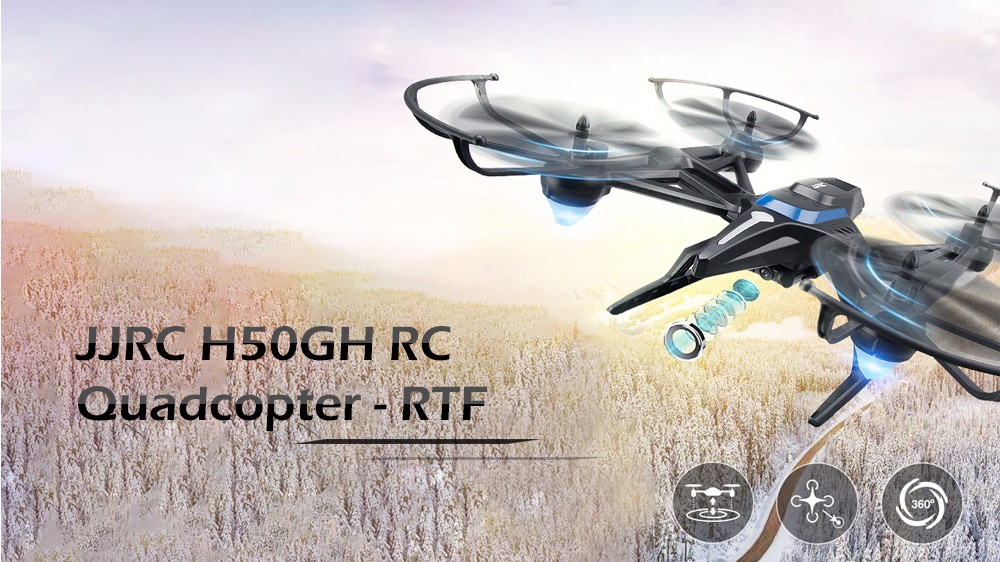 JJRC H50CH H50GH and H50WH Quadcopters